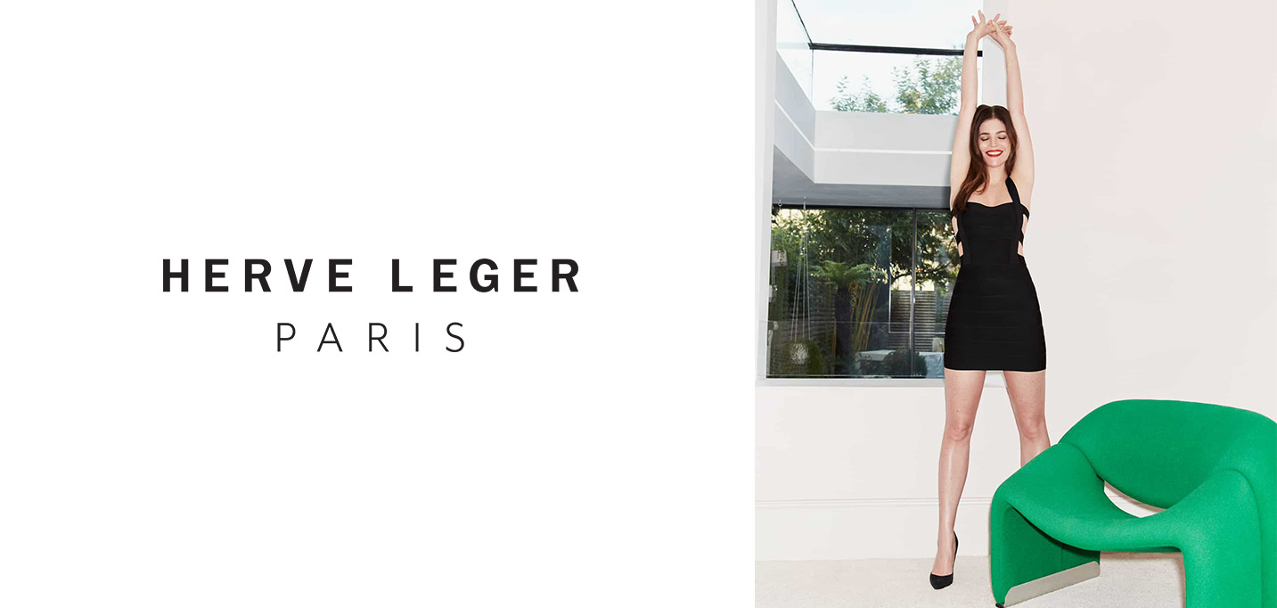 HERVÉ LÉGER AND JULIA RESTOIN ROITFELD JOIN FORCES FOR PRE-FALL 2021