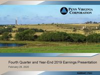 Fourth Quarter 2019 Earnings Presentation