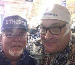 Joe and iDog in Cameron say GTHCGTH!