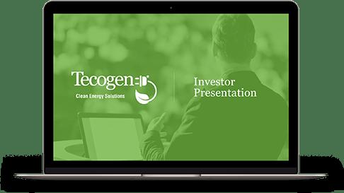Tecogen 2021 Investor Presentation