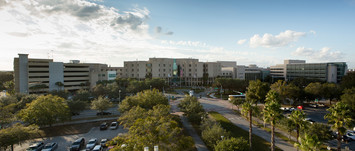 A picture of Moffit Cancer Center and Research Institute
