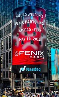 Fenix Parts, Inc. at NASDAQ