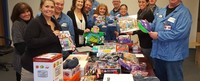 MC Assembly Helps The Wish Project Make Holidays a Little Better for Two Boston Families