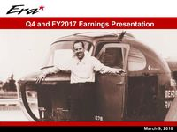 Full Year and Q4 2017 Earnings Presentation