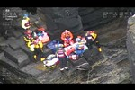 Teen in a tight spot - Rescue of teen at Wick, Scotland