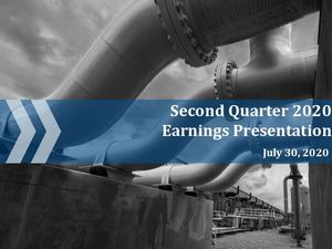 Second Quarter 2020 Earnings Call