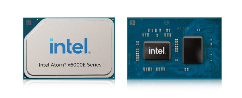 Intel Atom x6000E series delivers enhanced real-time performance and efficiency, improved graphics, a dedicated real-time offload engine, enhanced I/O and storage options, and integrated time-sensitive networking. The series was introduced in September 2020. (Credit: Intel Corporation)