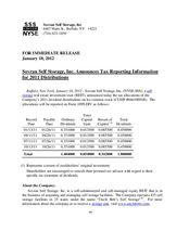 2011 Dividend Tax Treatment