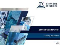 2021 Second Quarter Financial Results Call