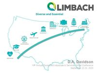 D.A. Davidson 19th Annual Diversified Industrials & Services Virtual Conference Presentation - September 22nd - 23rd, 2020