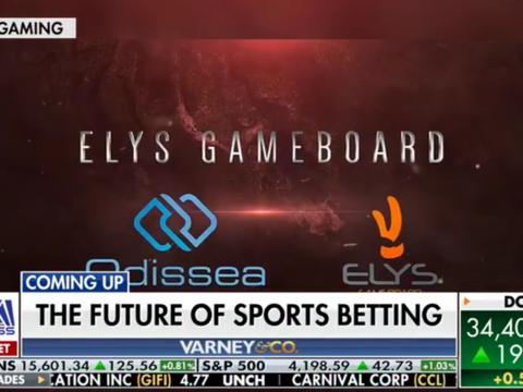 Elys Game Technology on Varney & Co.
