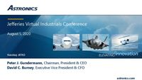 Jefferies Industrials Conference
