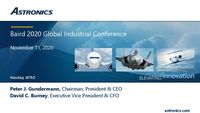Baird Global Industrial Conference - 2020