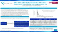 Effect of SCY-078 on the Pharmacokinetics of Tacrolimus: Results from a Phase 1 Clinical Drug-Drug Interaction Trial
