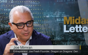 Iconic Entrepreneur Joe Mimran Excited by Khiron thumbnail