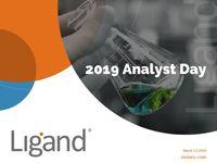 2019 Analyst Day