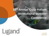16th Annual Craig-Hallum Institutional Investor Conference