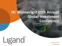 HC Wainwright 20th Annual Global Investment Conference