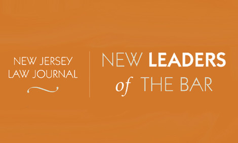 Seth Brookman selected as New Jersey Law Journal's 2016 New Leader of the Bar