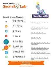 Planet Scramble
