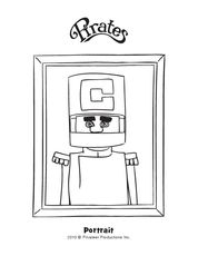 Admiral Krank Coloring Page