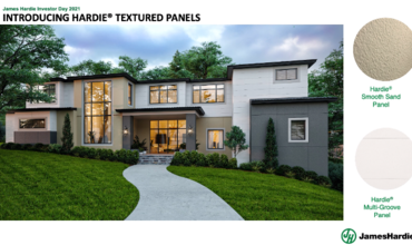 James Hardie Launches New Product