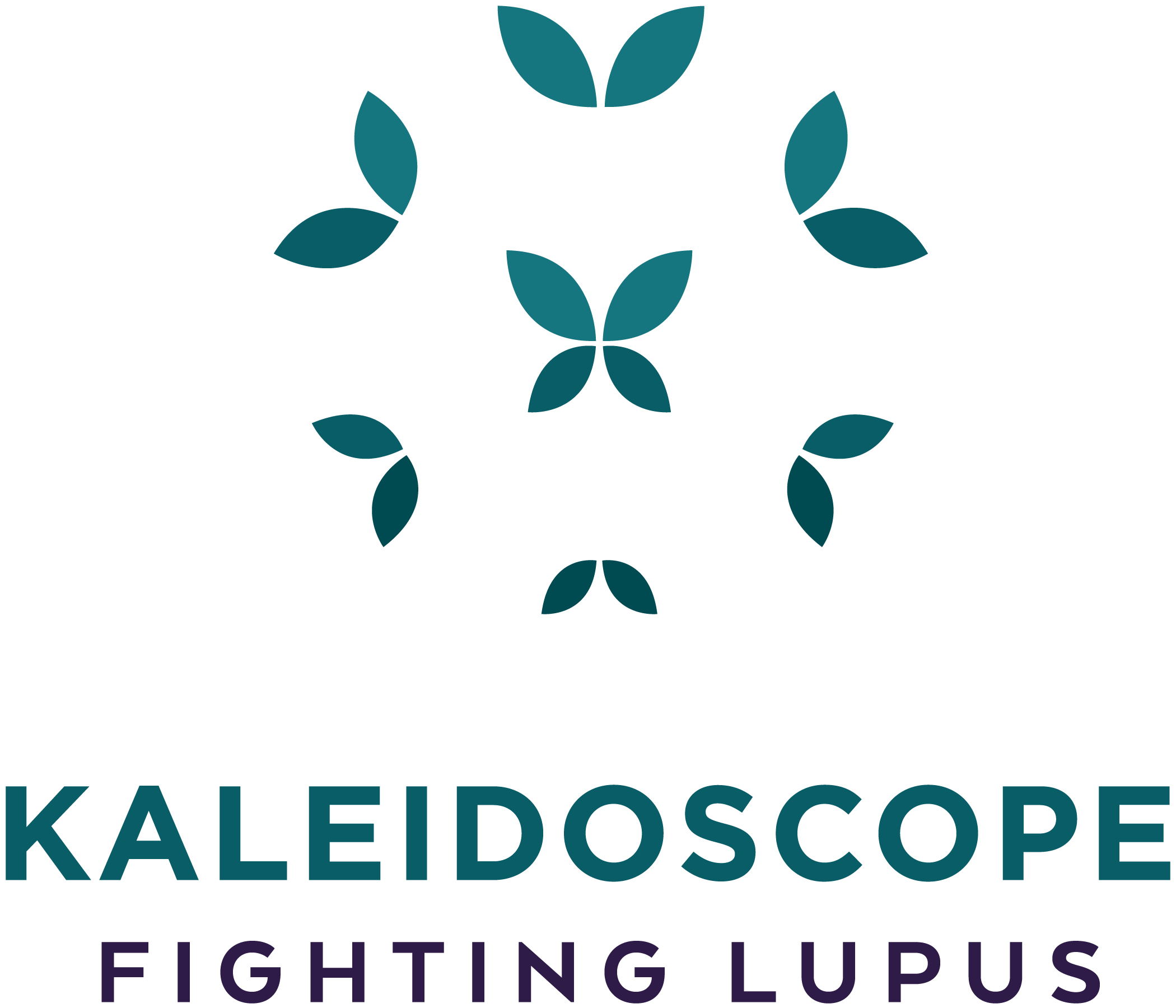 Kaleidoscope Fighting Lupus logo