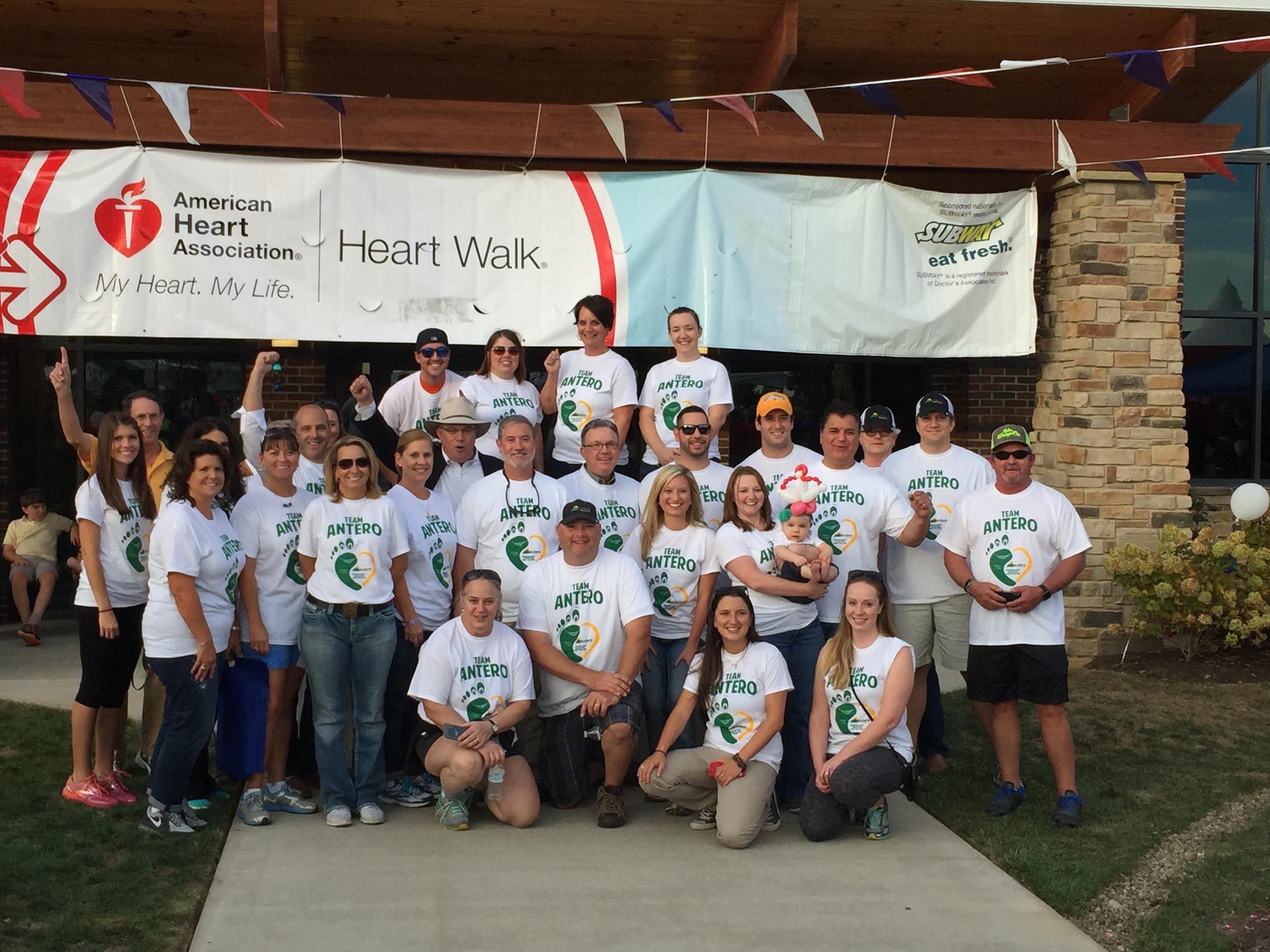 2015 Heart walk