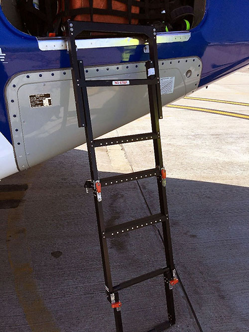 AW189 Foldable Cargo Bay Ladder