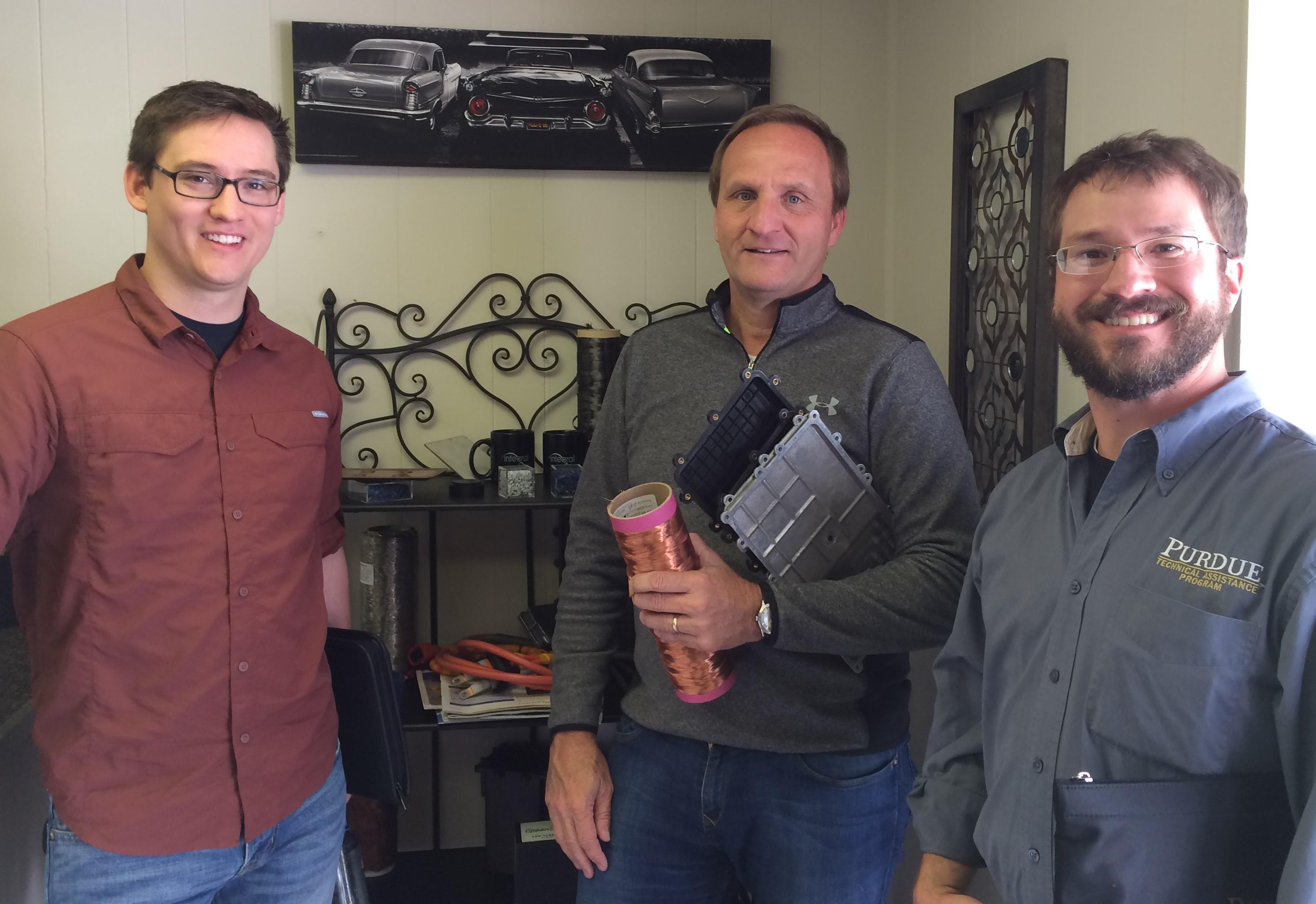 CEO, Doug Bathauer, welcomes Purdue TAP team