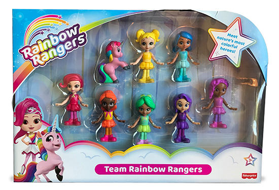 Rainbow Rangers Mulitpack