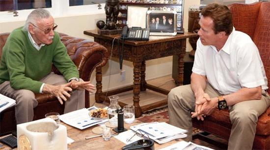 Stan Lee & Arnold Schwarzenegger