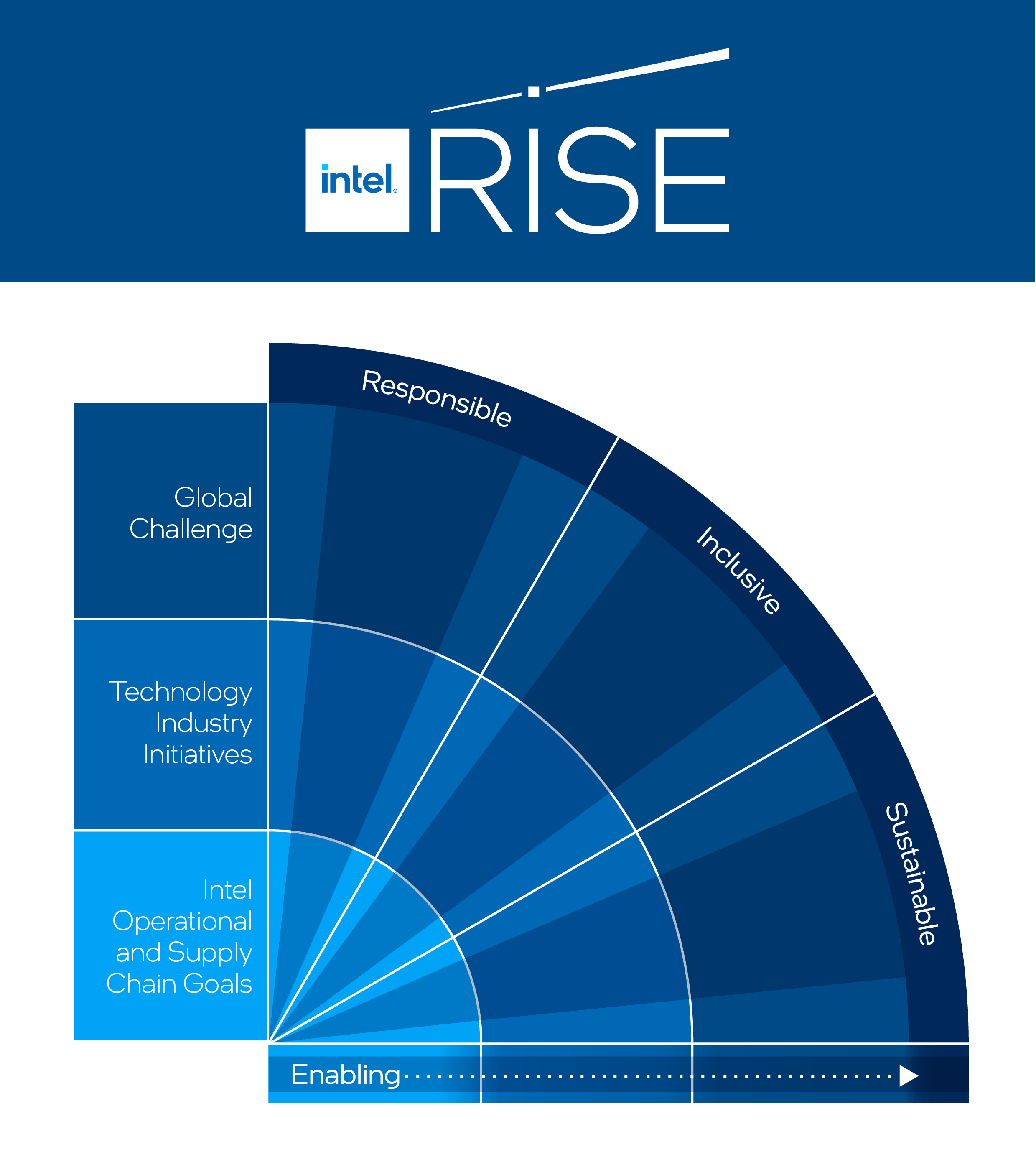 Rise graphic