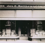 The Early Matthews Storefront
