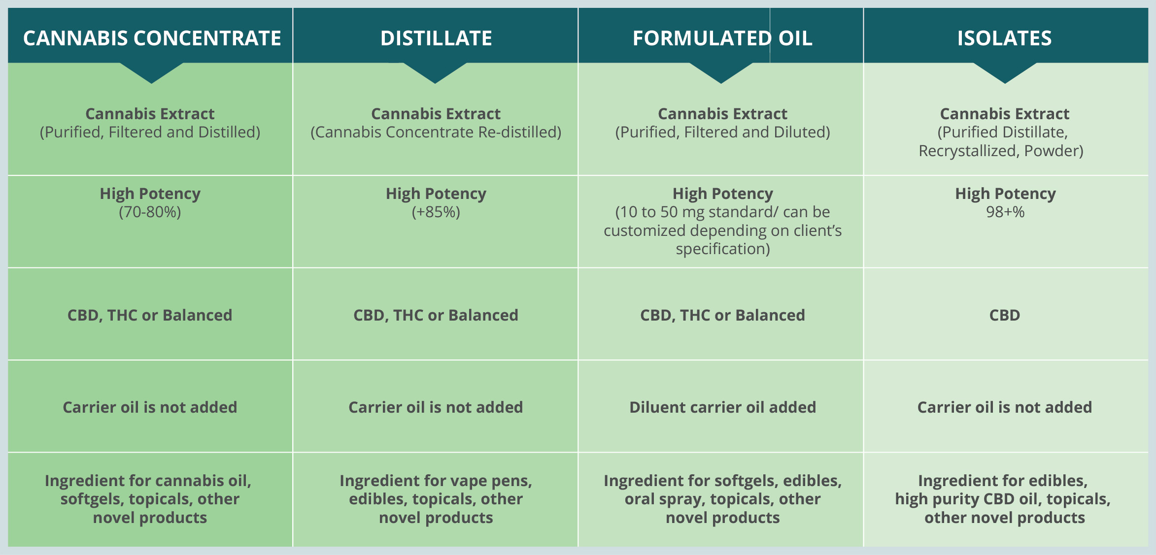 Extraction Process Chart