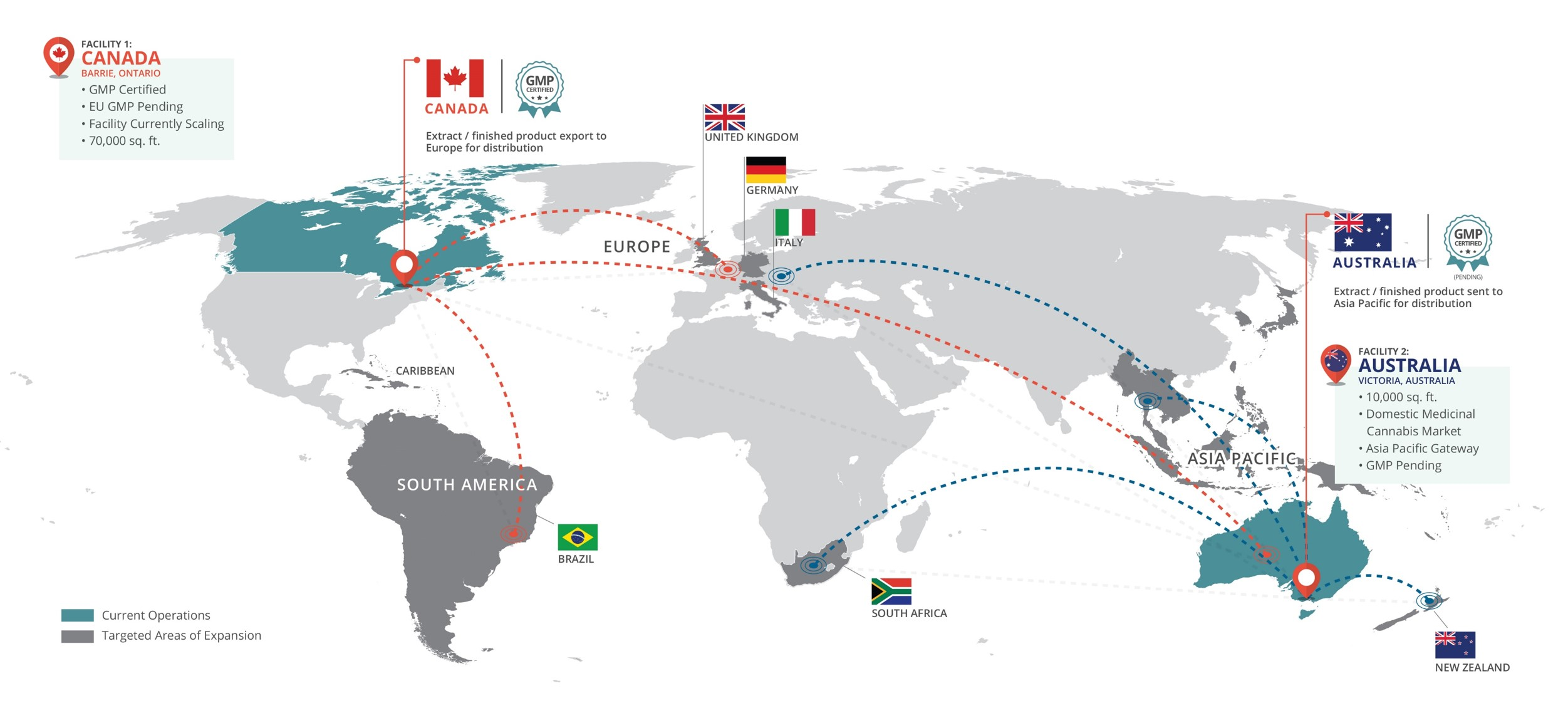 Our Operations Map