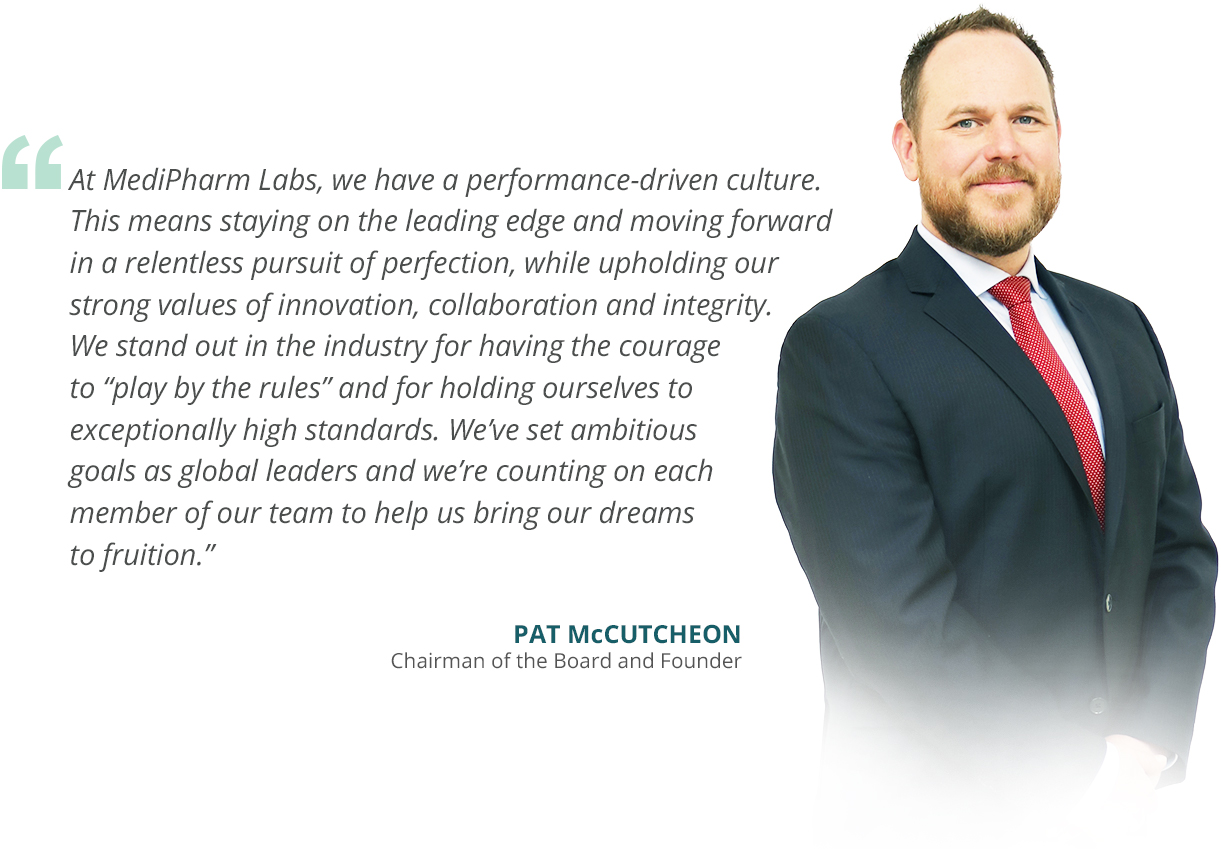 A message from our CEO and Founder, Pat McCutcheon
