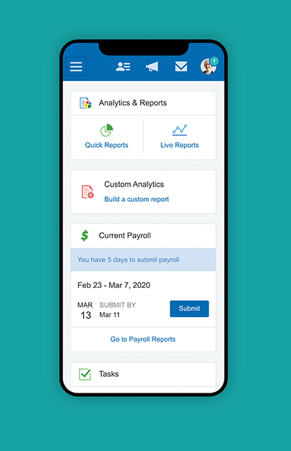 Paychex Flex mobile app