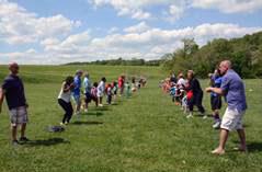 Serco Day picnic in Columbia, MD