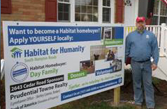Volunteering for South Hampton Roads, VA Habitat for Humanity